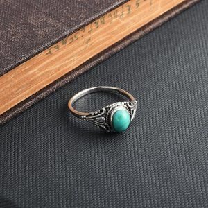 Jewelry - Sterling 925 Stabilized Turquoise Ring